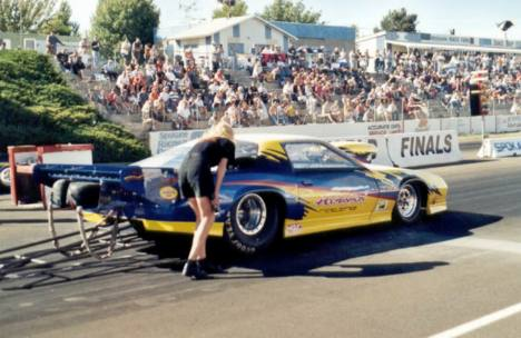 Ross Hogenson was runner up in Pro Mod. Photo by David Hapgood