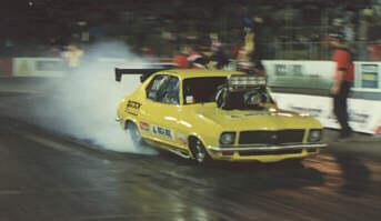 Drag Racing List - Team DRL - Grant O'Rourke - Comp Doorslammer