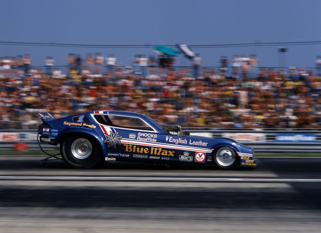 Classic Funny Car: NHRA FUNNY CAR WORLD CHAMPION RAYMOND BEADLE: 1943-2014